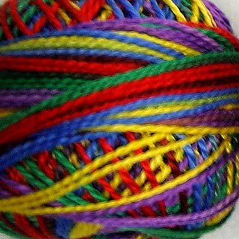 Punchneedle M45 Brights 3 Strands Cotton Floss Valdani 29yd ball q1