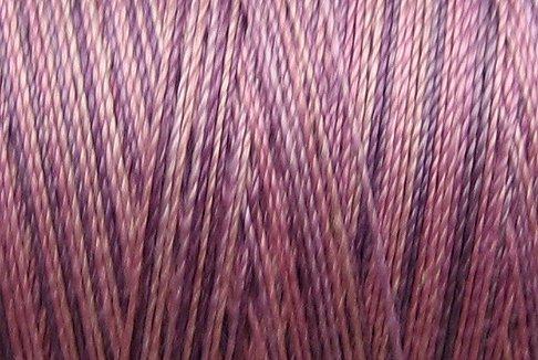 M18 Iris  50wt 540 yd spool Valdani Variegated Thread  q1