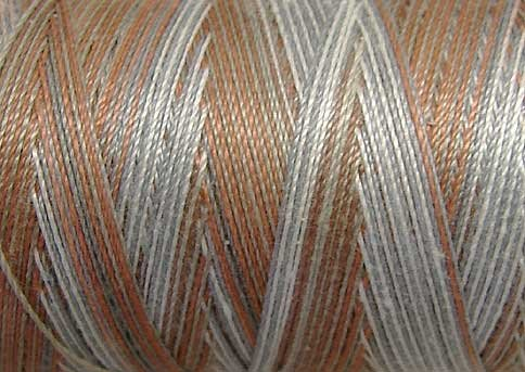 M23 Neutrals & Naturals 50wt 540 yd spool Valdani Variegated Thread  q1