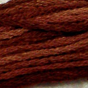 O513 Coffee Roast  six strand cotton floss Valdani free ship US CA q4