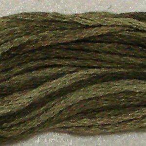 O519 Green Olives - six strand cotton floss 0519 Valdani free ship US CA q3