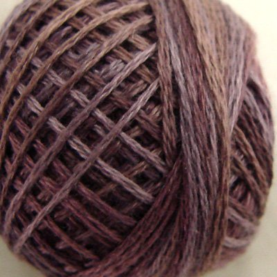 Punchneedle P10 Antique Violet 3 Strand Cotton Floss Valdani 86yd ball Free Shipping US q1