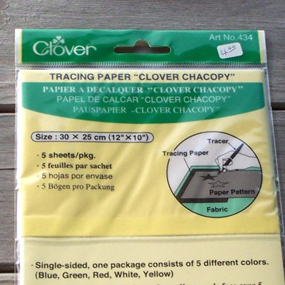 Tracing Paper Clover Chacopy q1