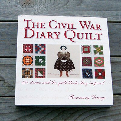 The Civil War Diary Quilt by Rosemary Youngs sale special Free Shipping US CA
