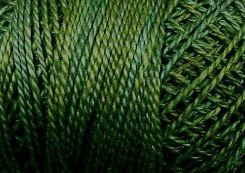 O565 Icy Leaves - six strand cotton floss Valdani free ship US CA q6