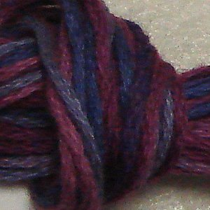 O521 Mulberry Grape- six strand cotton floss Valdani q6