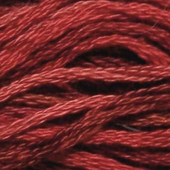 P1 Old Brick  J Paton six strand cotton floss Valdani free ship US CA q6