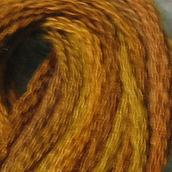 P5 Tarnished Gold  J Paton six strand cotton floss Valdani free ship US CA q5
