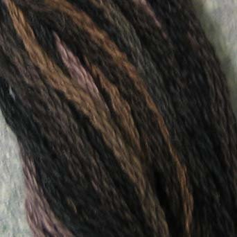 P11 Aged Black  J Paton six strand cotton floss Valdani free ship US CA q6