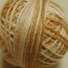O514 Wheat Husk Pearl Cotton size 12 0514 Valdani Overdyed q4