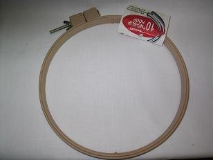 "Punchneedle Embroidery 10"" No-Slip Hoop from Morgan"