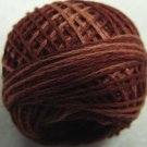 H201  Rust Heirloom Punchneedle 3 Strands Cotton Floss Valdani 29yd ball q4