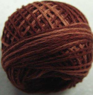 H201  Rust Heirloom Punchneedle 3 Strands Cotton Floss Valdani 29yd ball q6