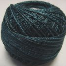 H203 Blackened Teal Heirloom Collection Valdani  Pearl Cotton size 12  q5