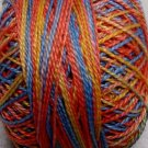 M360 Over the Rainbow Pearl Cotton size 12  Valdani Variegated q1