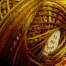 Punchneedle V4 Golden Browns 3 Strands Cotton Floss Valdani 29yd ball Free Shipping US q3