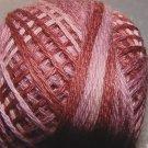 P8 Old Rose size 8 Overdyed Pearl Cotton Valdani Vintage Hues q2