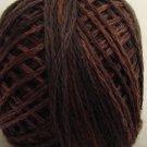 P12 Brown size 8 Overdyed Pearl Cotton Valdani Vintage Hues q6