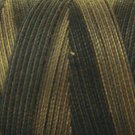 O501 Ebony Almond 35wt 500m Valdani Overdyed Thread  0501 q2