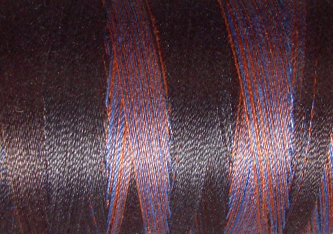 M53 - Moonlit Mountains - 35wt - 500m - Valdani Variegated Thread q1