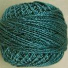 42 Deep Blue Teal  Pearl Cotton size 8  Valdani Solid color q6