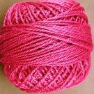 50 Magenta - Pearl Cotton size 8 - Valdani Solid color q1