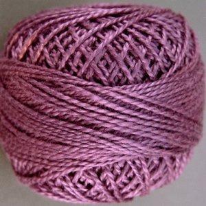 86 Rich Plum  Pearl Cotton size 8  Valdani Solid color q2