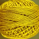152 Gold  Pearl Cotton size 8  Valdani Solid color q.ty stock 6