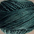 831 Spruce Green light Perle cotton size 12  Valdani As Time Goes By q4