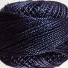 873 Dusty Blue dark Perle cotton size 12  Valdani As Time Goes By q4