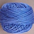 104 Deep Blue Pearl Cotton size 8 Valdani Solid color q5