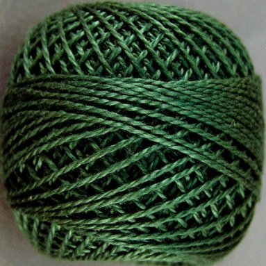 39 Forest Green  Pearl Cotton size 8  Valdani Solid color q6