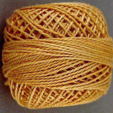 14 Deep Rusty Orange  Pearl Cotton size 8  Valdani Solid color q6