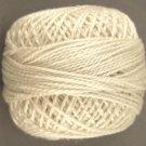 4 Cream - Pearl Cotton size 8 - Valdani Solid color q6
