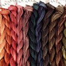 H200 Heirloom Sampler 12 colors - six strand cotton floss Valdani - f shp US CA - q2