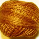 O217 Yummy Pumpkin Pearl Cotton size 12  Valdani Overdyed 0217 q6