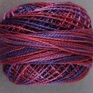 V16 - Violette di Parma Pearl Cotton size 8 Valdani Variegated  Vibrant q6