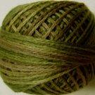 O519 Green Olives Pearl Cotton size 8 Valdani 0519 Overdyed q6