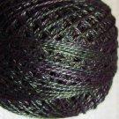 O536 Dark Spruce Pearl Cotton size 12  Valdani Overdyed 0536 q4