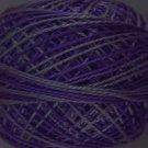 O583 Dark Periwinkle Pearl Cotton size 12  Valdani Overdyed 0583 q6