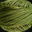 822 Olive Green medium Perle cotton size 12  Valdani As Time Goes By q6