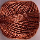 171 Rich Brown  Pearl Cotton size 8  Valdani Solid color q6