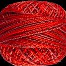 M66 Raspberry Fizz  Pearl Cotton size 8  Valdani Variegated q2