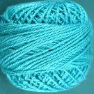 94 Turquoise medium Three Strand Floss Valdani 29yd ball Free Ship US q1