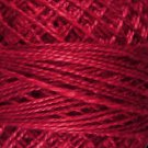 O775 Proud Turkey red Pearl Cotton size 12  Valdani Overdyed 0775 q1