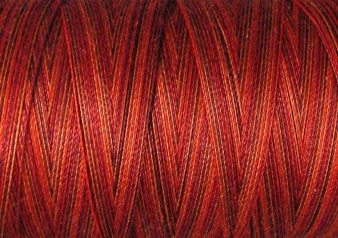 O533 Golden Autumn 35wt 500m Valdani Overdyed Thread 0533 q1