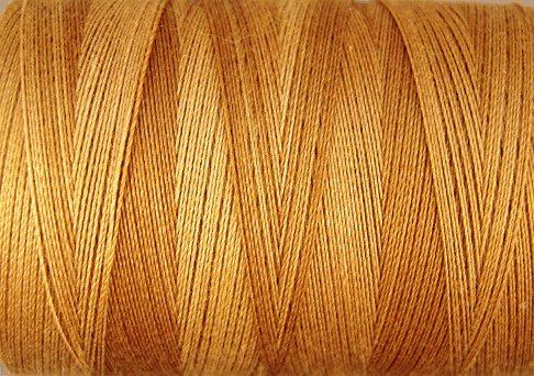 O571 Tea Honey 35wt 500m Valdani Overdyed Thread  q1