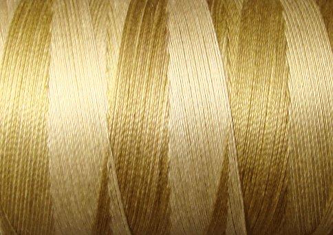O576 Weathered Hay 35wt 500m Valdani Overdyed Thread  q1