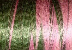 M69 Lilac Bouquet - 35wt -  500m - Valdani Variegated Thread q3