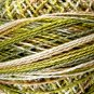 M47 Robins Nest  Pearl Cotton size 8  Valdani Variegated q1